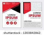 business flyer modern template... | Shutterstock .eps vector #1303842862