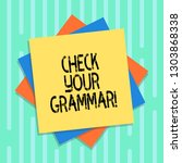 word writing text check your... | Shutterstock . vector #1303868338