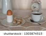 Boiled Egg With Toast  Cup Of...