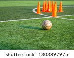 children's football training...   Shutterstock . vector #1303897975