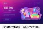 businessman with smartphone...   Shutterstock .eps vector #1303905988
