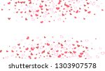 red on white fond vector. happy ... | Shutterstock .eps vector #1303907578