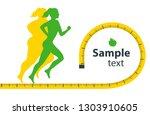 woman body transformation... | Shutterstock .eps vector #1303910605