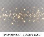sparkling magic dust particles. ... | Shutterstock .eps vector #1303911658