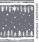 winter floor mat design.vector...   Shutterstock .eps vector #1303914145