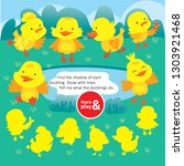 logic kid find duck form game... | Shutterstock .eps vector #1303921468