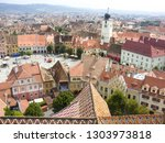 tower of council  left  and...   Shutterstock . vector #1303973818