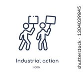 industrial action icon from... | Shutterstock .eps vector #1304039845