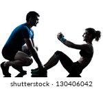 one caucasian couple man woman... | Shutterstock . vector #130406042
