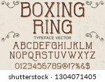 font script typeface... | Shutterstock .eps vector #1304071405