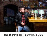 pub great place to dine drink... | Shutterstock . vector #1304076988