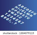 isometric artwork illustration... | Shutterstock .eps vector #1304079115