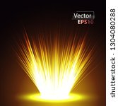 magical explosion of bright... | Shutterstock .eps vector #1304080288