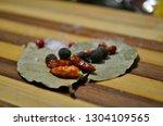 different tasty natural... | Shutterstock . vector #1304109565