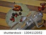 tasty natural aromatic... | Shutterstock . vector #1304112052