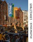 amsterdam  holland   august 3... | Shutterstock . vector #1304127805