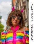 amsterdam  holland   august 4... | Shutterstock . vector #1304131942