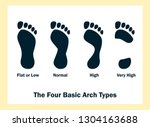 the four basic arch types. set... | Shutterstock . vector #1304163688
