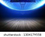 basketball stadium 3d rendering ... | Shutterstock . vector #1304179558
