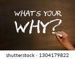 What's Your Why Question...