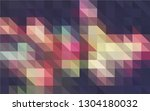 multicolor polygonal background. | Shutterstock .eps vector #1304180032