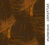 various pencil hatches.... | Shutterstock .eps vector #1304197165