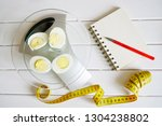 counting and recording the... | Shutterstock . vector #1304238802