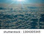 view from the window of the... | Shutterstock . vector #1304305345