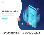 Mobile Security Vector...