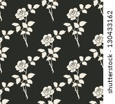 vector seamless floral... | Shutterstock .eps vector #130433162