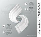 inter infographic vector design ... | Shutterstock .eps vector #1304356045