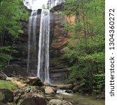Toccoa Falls In Toccoa  Georgia