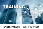 business training concept.... | Shutterstock . vector #1304426935