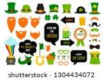 saint patricks day photo booth...   Shutterstock .eps vector #1304434072