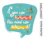 """motivation success quote """"if...   Shutterstock .eps vector #1304477845"""