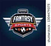 fantasy sport logo   Shutterstock .eps vector #1304479375