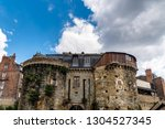 old ramparts in historic centre ... | Shutterstock . vector #1304527345