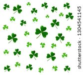 st. patricks day pattern with... | Shutterstock .eps vector #1304541145