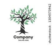 modern deciduous tree logo | Shutterstock .eps vector #1304573962