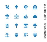 branch icon set. collection of... | Shutterstock .eps vector #1304589445