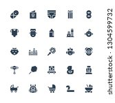 child icon set. collection of... | Shutterstock .eps vector #1304599732