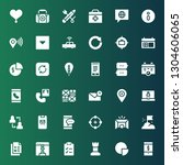 ui icon set. collection of 36...