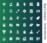 household icon set. collection... | Shutterstock .eps vector #1304611558