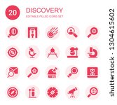discovery icon set. collection...   Shutterstock .eps vector #1304615602