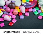 chewing gum  candy  chewing... | Shutterstock . vector #1304617648