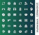 unity icon set. collection of... | Shutterstock .eps vector #1304643415