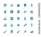 magic icon set. collection of... | Shutterstock .eps vector #1304643532