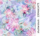 abstract seamless pattern.... | Shutterstock . vector #1304661475