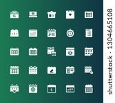 end icon set. collection of 25... | Shutterstock .eps vector #1304665108