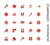 match icon set. collection of... | Shutterstock .eps vector #1304668912